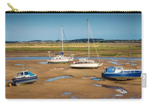 Carry-all Pouch featuring the photograph Low Tide by Nick Bywater