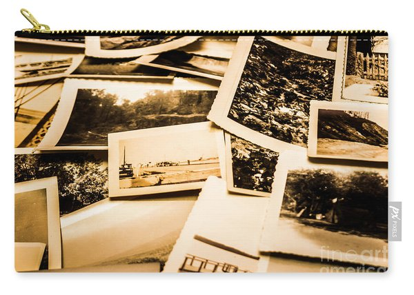 Lowdown On A Vintage Photo Collections Carry-all Pouch
