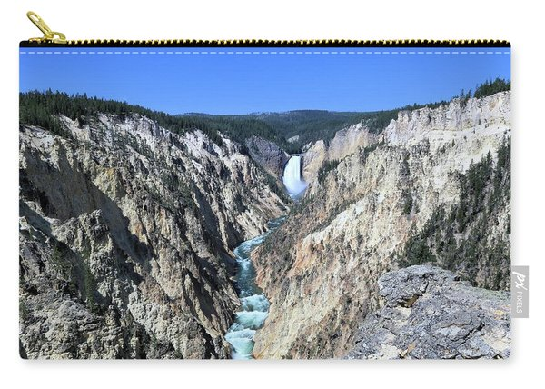 Lower Falls From Artist Point Carry-all Pouch