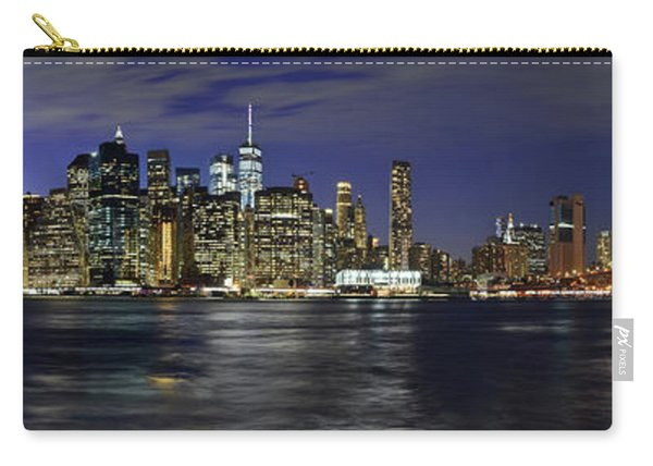 Lower Manhattan From Brooklyn Heights At Dusk - New York City Carry-all Pouch