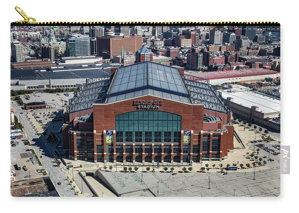 Lucas Oil Stadium - Home Of Indianapolis Colts Carry-all Pouch