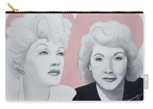 Lucille And Vivian Carry-all Pouch