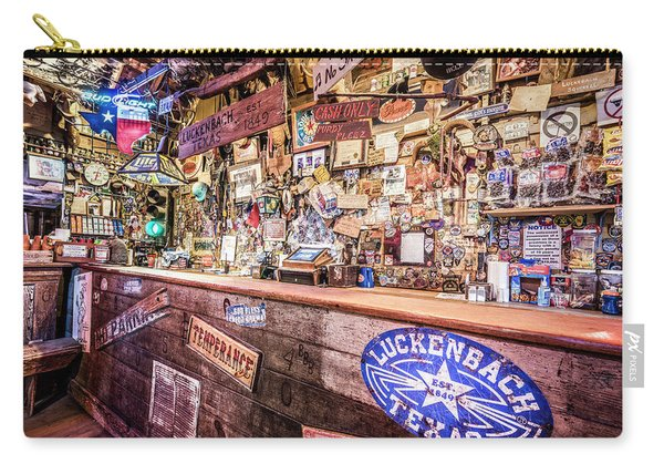 Luckenbach Bar Carry-all Pouch