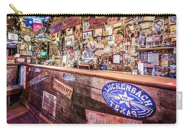 Luckenbach Bar Carry-all Pouch
