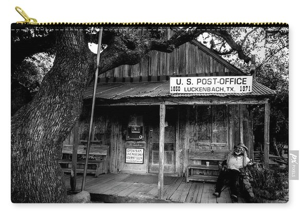 Luckenbach Texas Carry-all Pouch