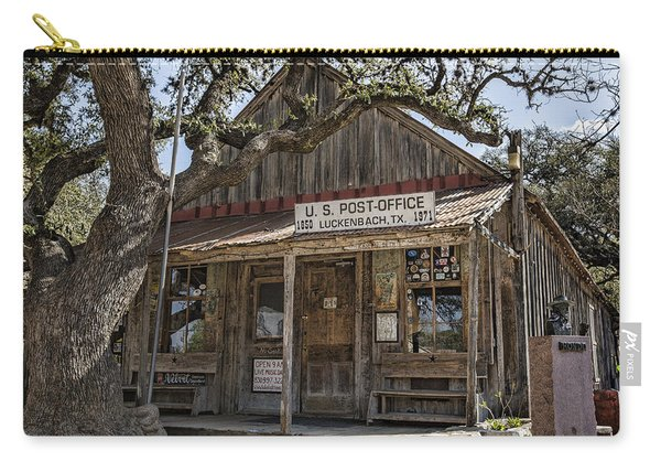 Luckenbach Tx General Store Carry-all Pouch
