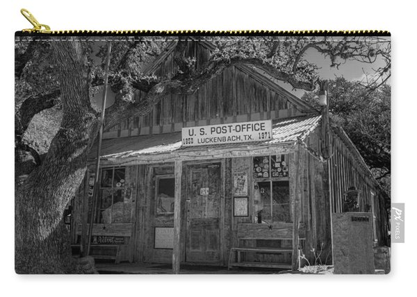 Luckenbach Tx Post Office #2 Carry-all Pouch