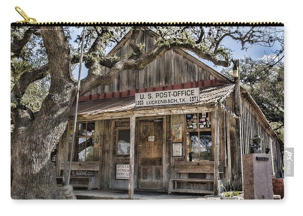 Luckenbach Tx Post Office Carry-all Pouch
