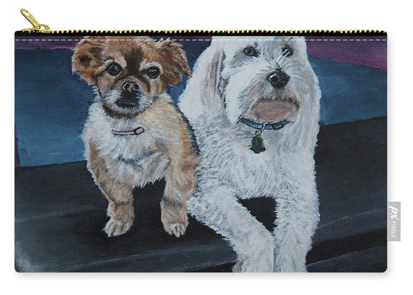 Lucy And Colby Carry-all Pouch