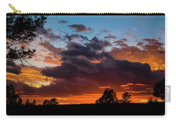 Carry-all Pouch featuring the photograph Luminous Dessert by Jason Coward