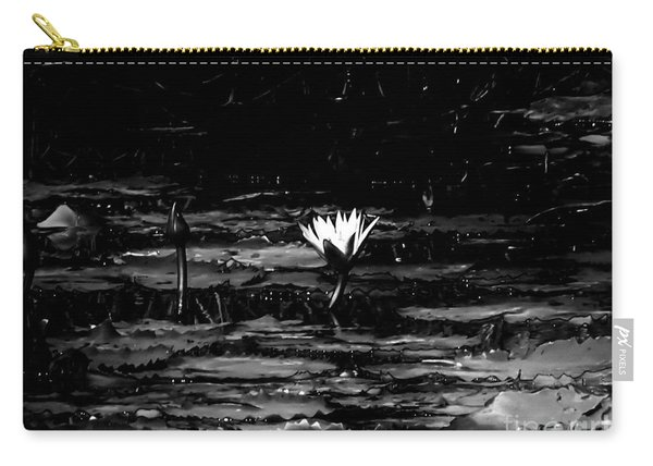 Luminous Water Lily  Carry-all Pouch