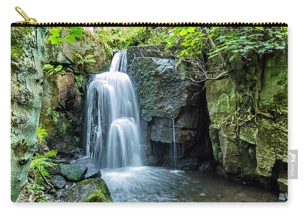 Carry-all Pouch featuring the photograph Lumsdale Falls by Nick Bywater