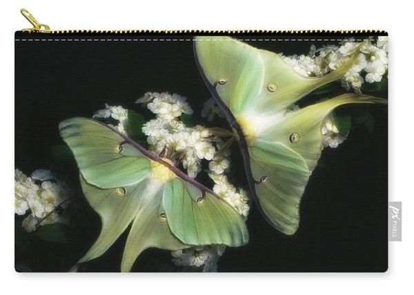 Luna Moths Carry-all Pouch