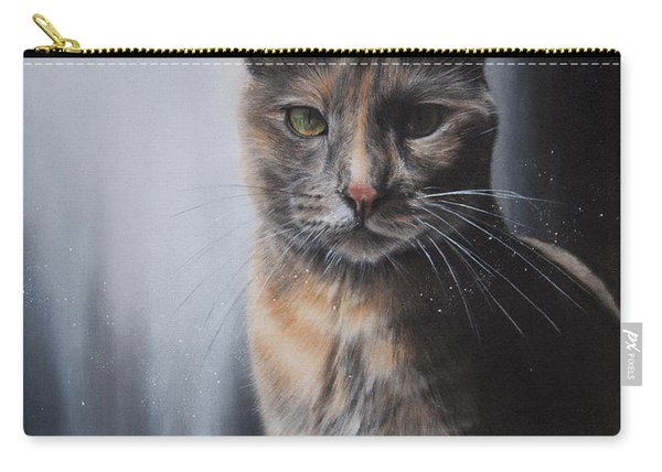 Luna The Cat Carry-all Pouch