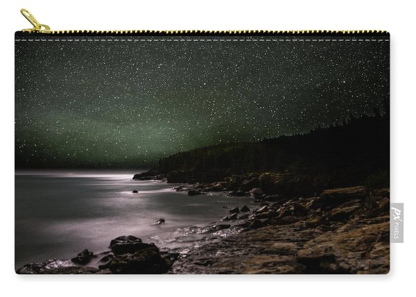 Lunar Eclipse Over Great Head Carry-all Pouch