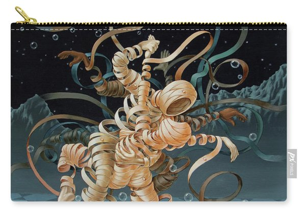 Lunar Tango In Space And Time Carry-all Pouch