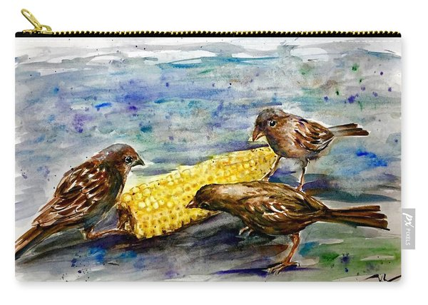Lunch Time 2 Carry-all Pouch
