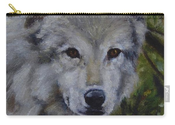 Lupine Gaze Carry-all Pouch