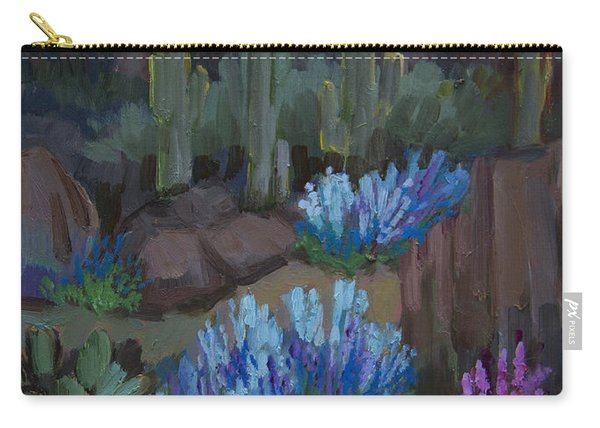Lupine In Bloom At Boyce Thompson Arboretum Carry-all Pouch
