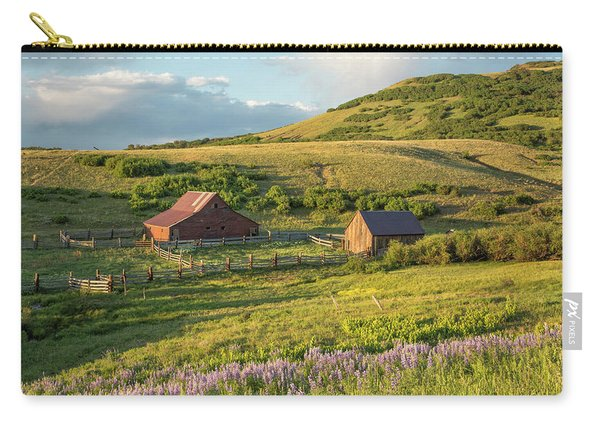 Lupine In The Field Carry-all Pouch
