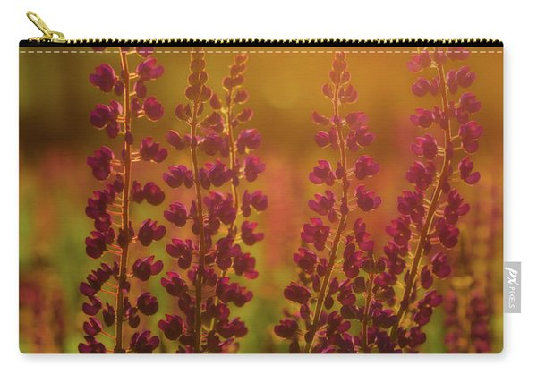 Lupines At Dawn Carry-all Pouch