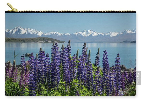 Lupines At Lake Tekapo Carry-all Pouch