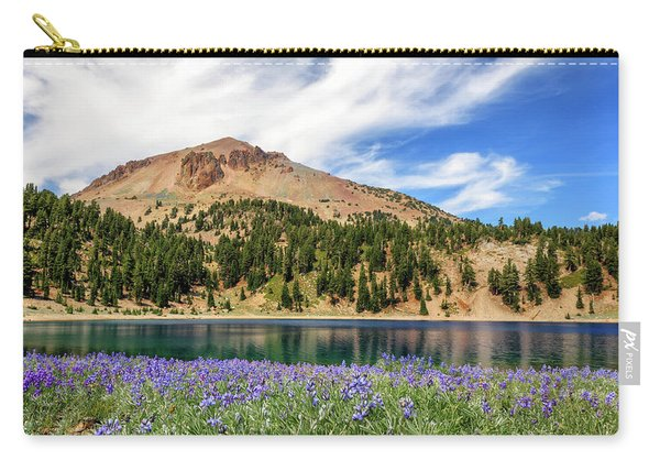 Lupines Lake And Lassen Carry-all Pouch