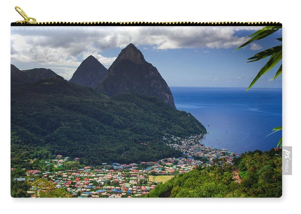 Lure Of Saint Lucia Carry-all Pouch