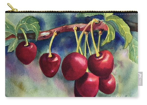 Luscious Cherries Carry-all Pouch