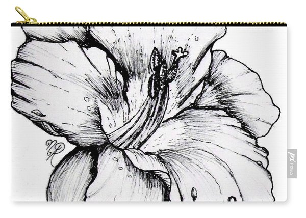 Luscious Daylily  Carry-all Pouch