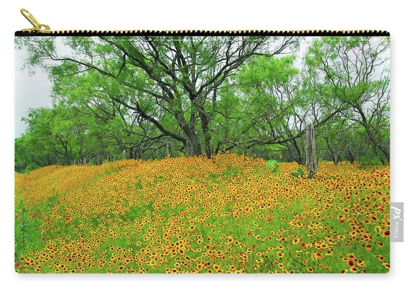 Lush Coreopsis Carry-all Pouch