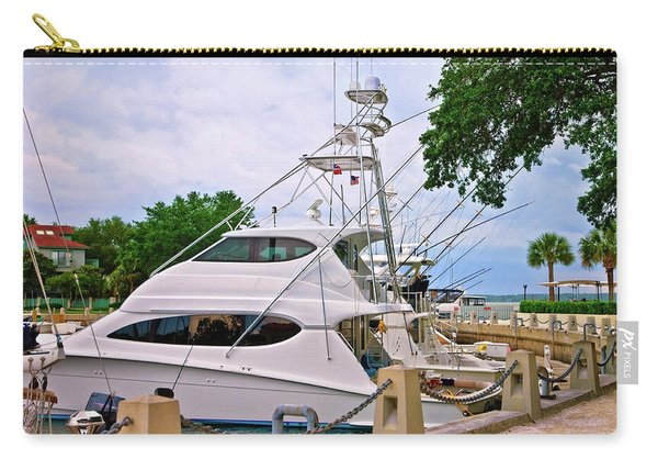 Luxury Fishing Carry-all Pouch
