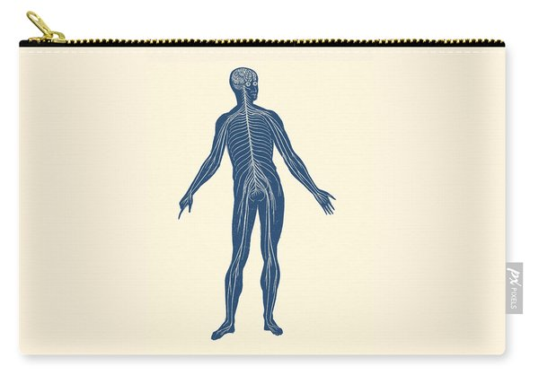 Lymphatic System - Vintage Anatomy Poster Carry-all Pouch