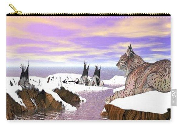 Lynx Watcher Render Carry-all Pouch