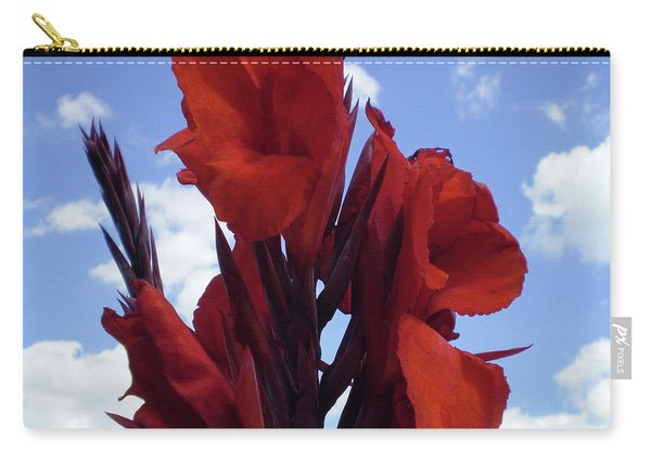 M Shades Of Red Flowers Collection No. R16 Carry-all Pouch