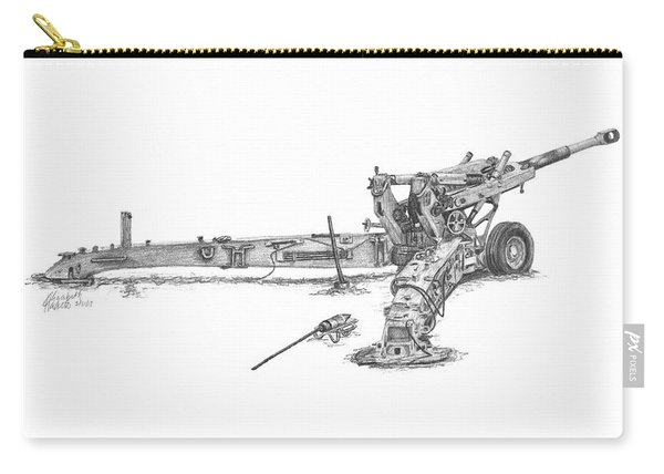 M198 Howitzer - Standard Size Prints Carry-all Pouch