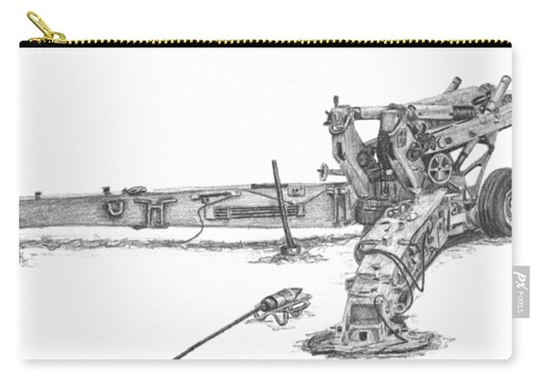 M198 Howitzer - Natural Sized Prints Carry-all Pouch