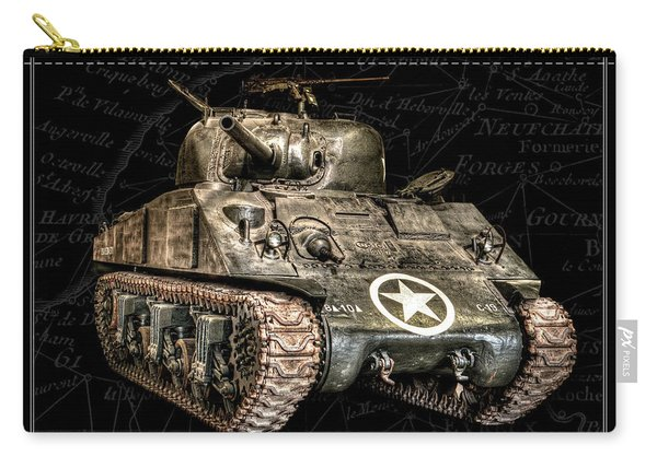 M4 Sherman Tank Bk Bg Carry-all Pouch