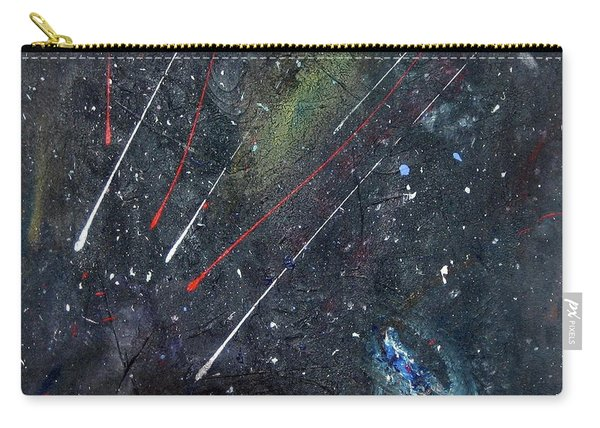 Carry-all Pouch featuring the painting M51 by Michael Lucarelli