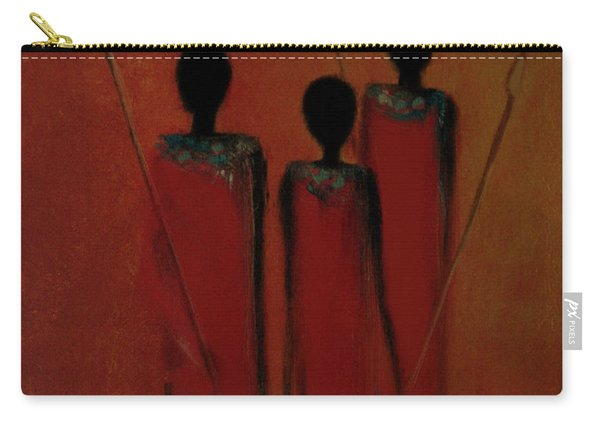 Maasai Trio  Carry-all Pouch