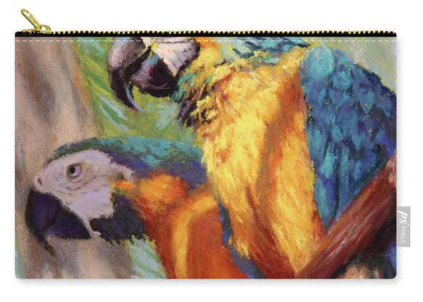 Macaws In The Sunshine Carry-all Pouch