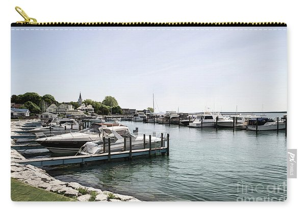 Mackinac Marina Art Carry-all Pouch