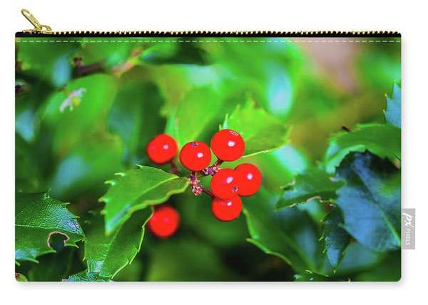 Macro Berries - 1202 Carry-all Pouch