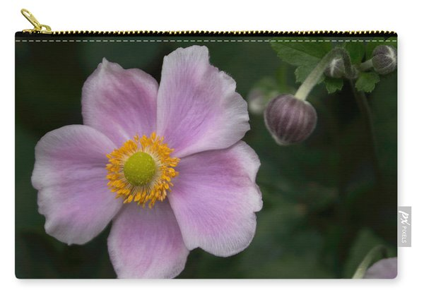 Macro Lavender Blossom Carry-all Pouch