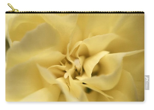 Macro Yellow Rose Carry-all Pouch