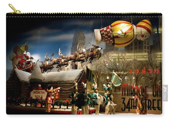 Macy's Miracle On 34th Street Christmas Window Carry-all Pouch