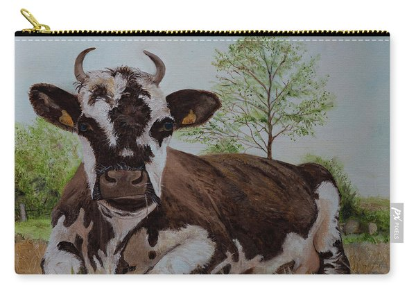 Madame Vache Carry-all Pouch