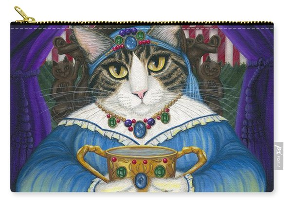 Madame Zoe Teller Of Fortunes - Queen Of Cups Carry-all Pouch