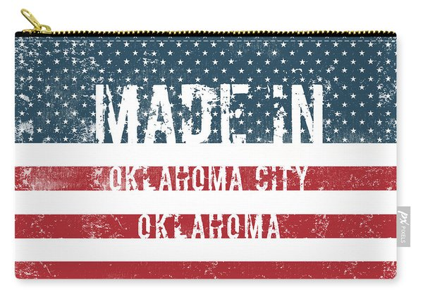 Made In Oklahoma City, Oklahoma Carry-all Pouch