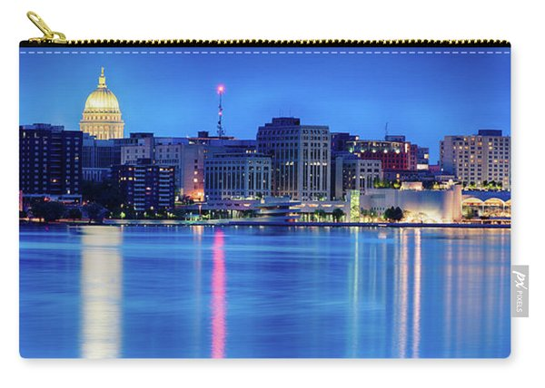 Madison Skyline Reflection Carry-all Pouch